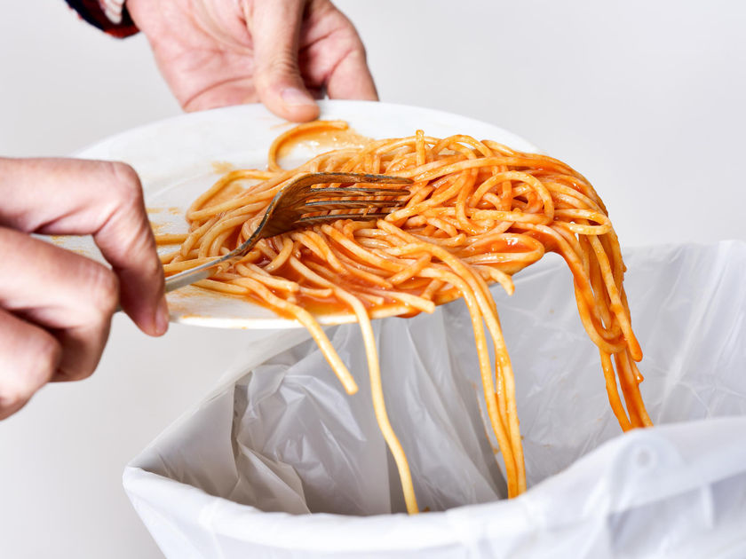 Throwing Away Spaghetti