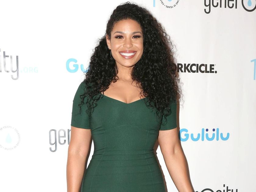 Jordin Sparks Emerald Dress