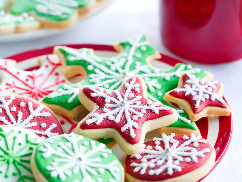 giving kids unlimited holiday cookies