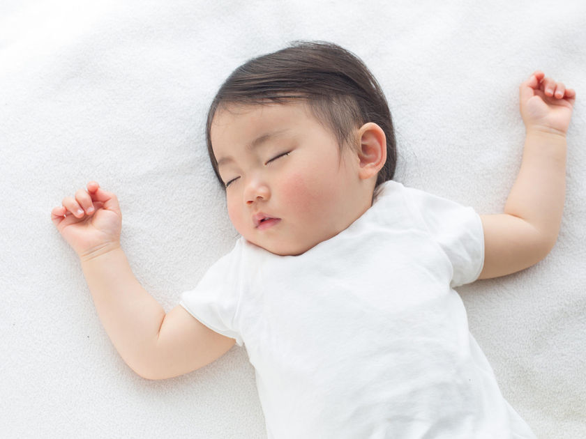 sleeping baby ferber method cry it out