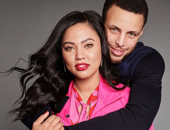 2019 Ayesha and Stephen Curry