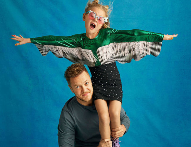 Imagine Dragons Dan Reynolds and Daughter