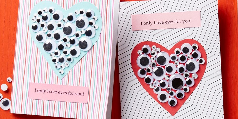 No Candy Valentine Eye-Catching Cards