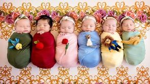 Disney Princess Newborn Babies in Magical Photo Shoot?_still