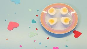 How to Make Heart-Shaped Eggs
