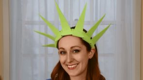 July 4th Lady Liberty Crown