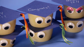Cute Graduation Snack Cups for Kids