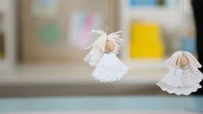 How to Make an Angel Christmas Ornament