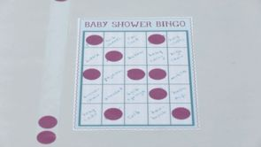 Baby Shower Games: Baby Shower Bingo