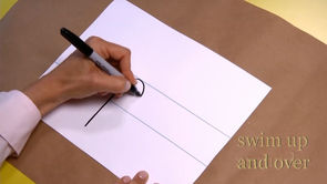 Handwriting: Lower-Case Letters p through t