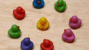 Baby Shower Games: Rubber Ducks
