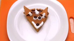 Clever Fox Pumpkin Pie