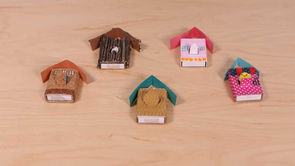 Matchbox Birdhouses