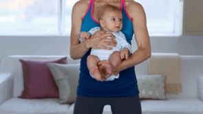 Exercise With Baby: Thighs, Butt and Calves