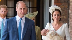 Prince Louis' Christening Brings out the Royals_Still