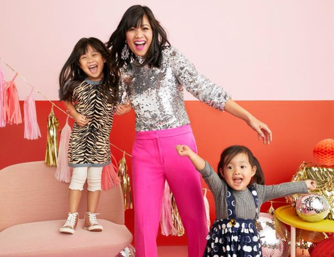 Joy Cho and Daughters