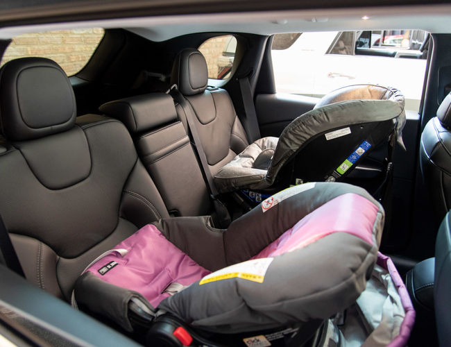 Family Car Back Seat Car Seats