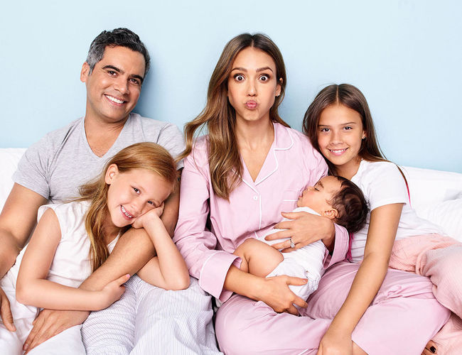 Jessica Alba and Family 2018
