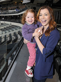 Alyson Hannigan and Daughter