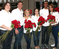 Sarah Robles, Ryan Lochte, Shawn Johnson, Jordyn Wieber, Ashton Eaton and Diana Lopez