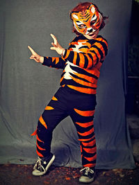 Tiger Costume & Fiery Tiger Costume