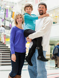 Emma White and family
