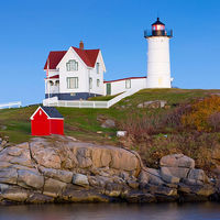 Nubble Lighthouse, Cape Neddick, Maine