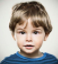 blurry image of child