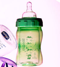 5 Phases hybrid glass bottle