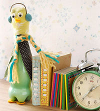 Birdy Bottle Bookend