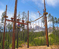 Vail Mountain Resort ropes course