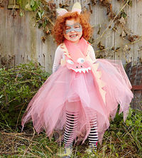 Girly ghoul costume