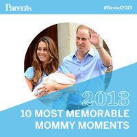 10 Most Memorable Mommy Moments of 2013
