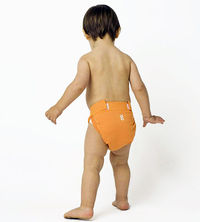 orange G cloth diaper