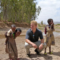Matt Damon in Ethiopia