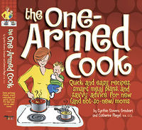 One Armed Cook recipe book cover