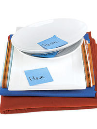 marked serving platters