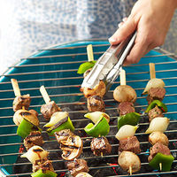 Grilled Beef Kabobs with Chimichurri Sauce