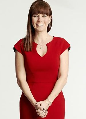 Editor's Letter Guess My Power Move Liz Vaccariello Red Dress