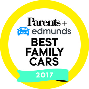 Parents and Edmunds Best Family Cars of 2017