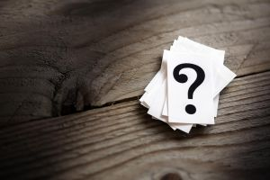 question mark cards