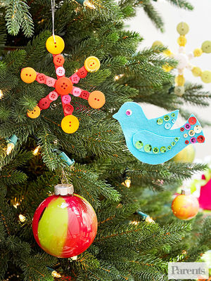 Colorful Christmas Crafts For Kids