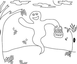 frightfully fun halloween coloring pages - Halloween Traceables