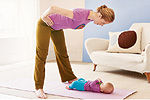 Mommy and Me Work out 4