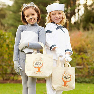trick or treat 15 bag bucket ideas