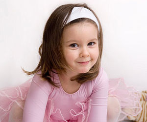 girl in ballerina costume