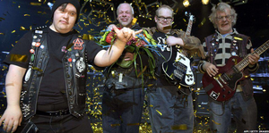 Finnish band PKN, which members who have Down syndrome and autism