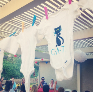 sweetest baby shower activity ever