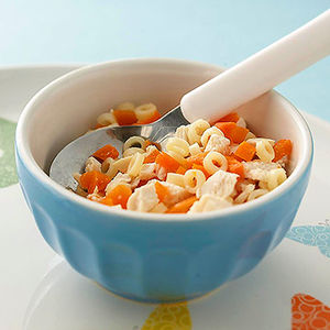 Baby food recipes ideas nutrition tips parents chicken pasta and carrots forumfinder Choice Image