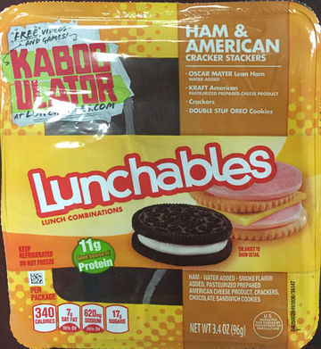 Ham and American Lunchable Recall